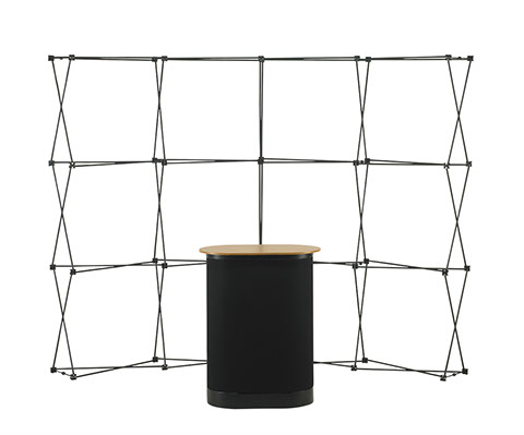 3x4 Straight Pop up Stand